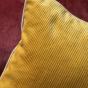 Carino Cushion, Mustard Corduroy Velvet