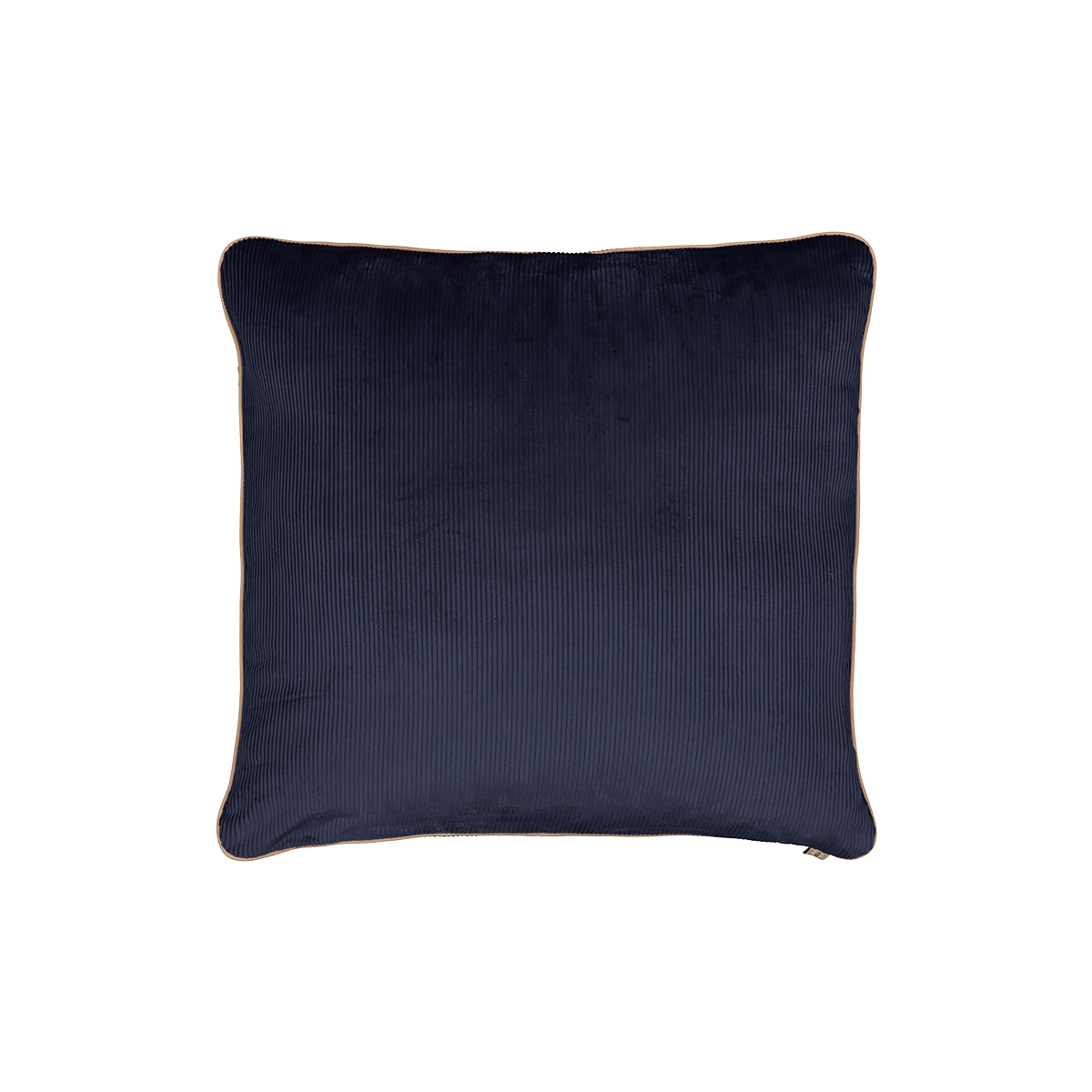 Carino Cushion, Navy Blue Velvet