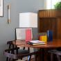 Gioia Table Lamp, Pink