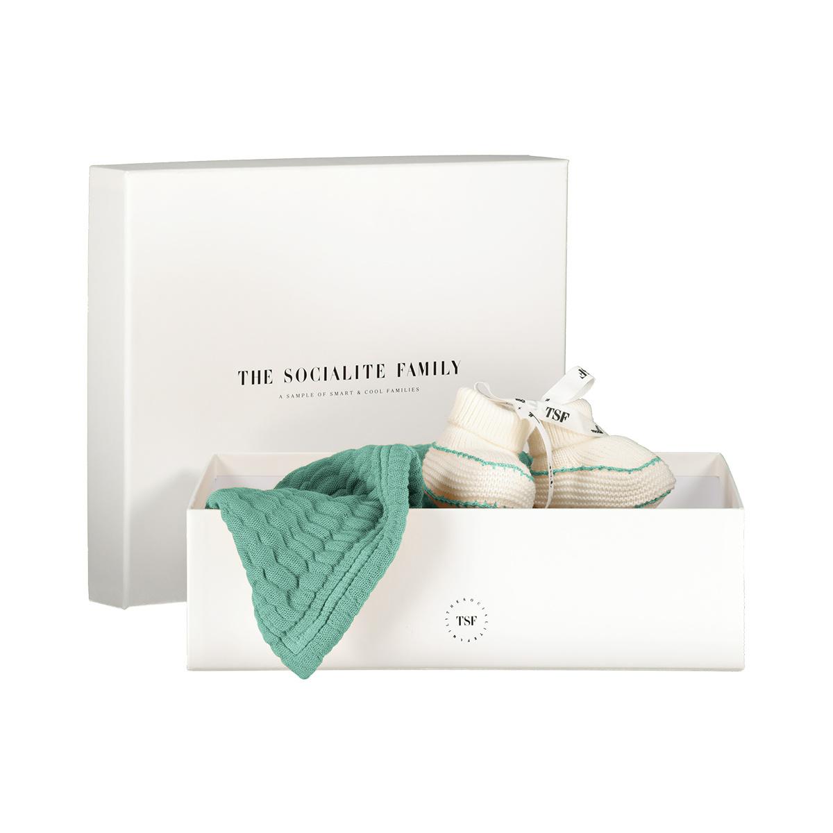 Newborn Baby Kit, Almond Green