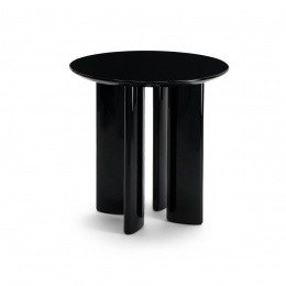 Carlotta Black  Side Table