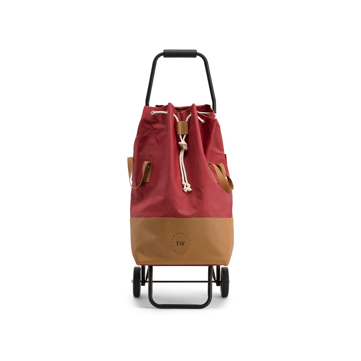 Shopping Trolley, Brick Red