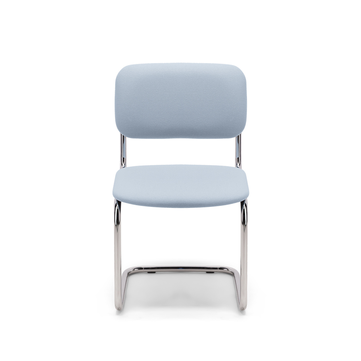 Classica Chair Pastel Blue Felt