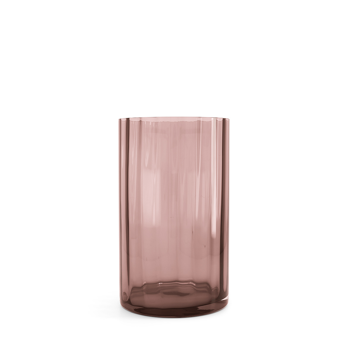 Chiara antique pink vase