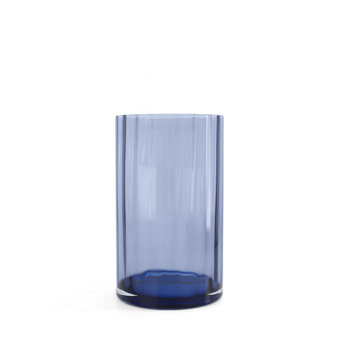 Chiara blue vase
