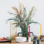Chiara green vase