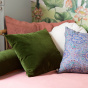 Carino Cushion Fir Green Velvet