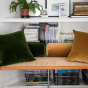 Carino Cushion Fir Green Velvet