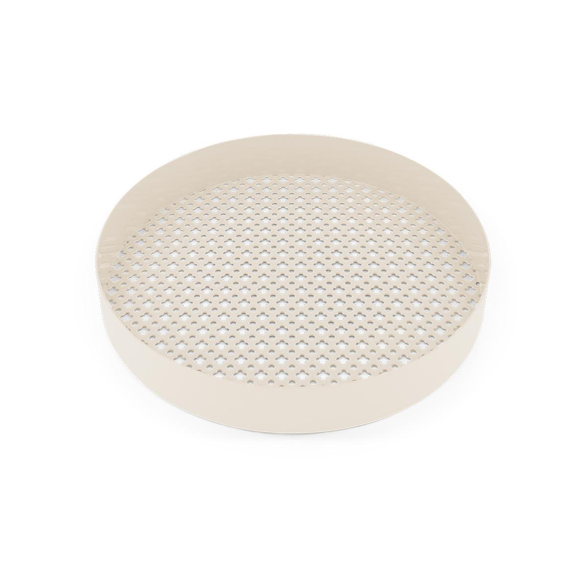 Matteo cream white platter