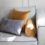 Adri Cushion Mustard velvet