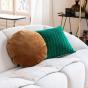 Adri Cushion Green print