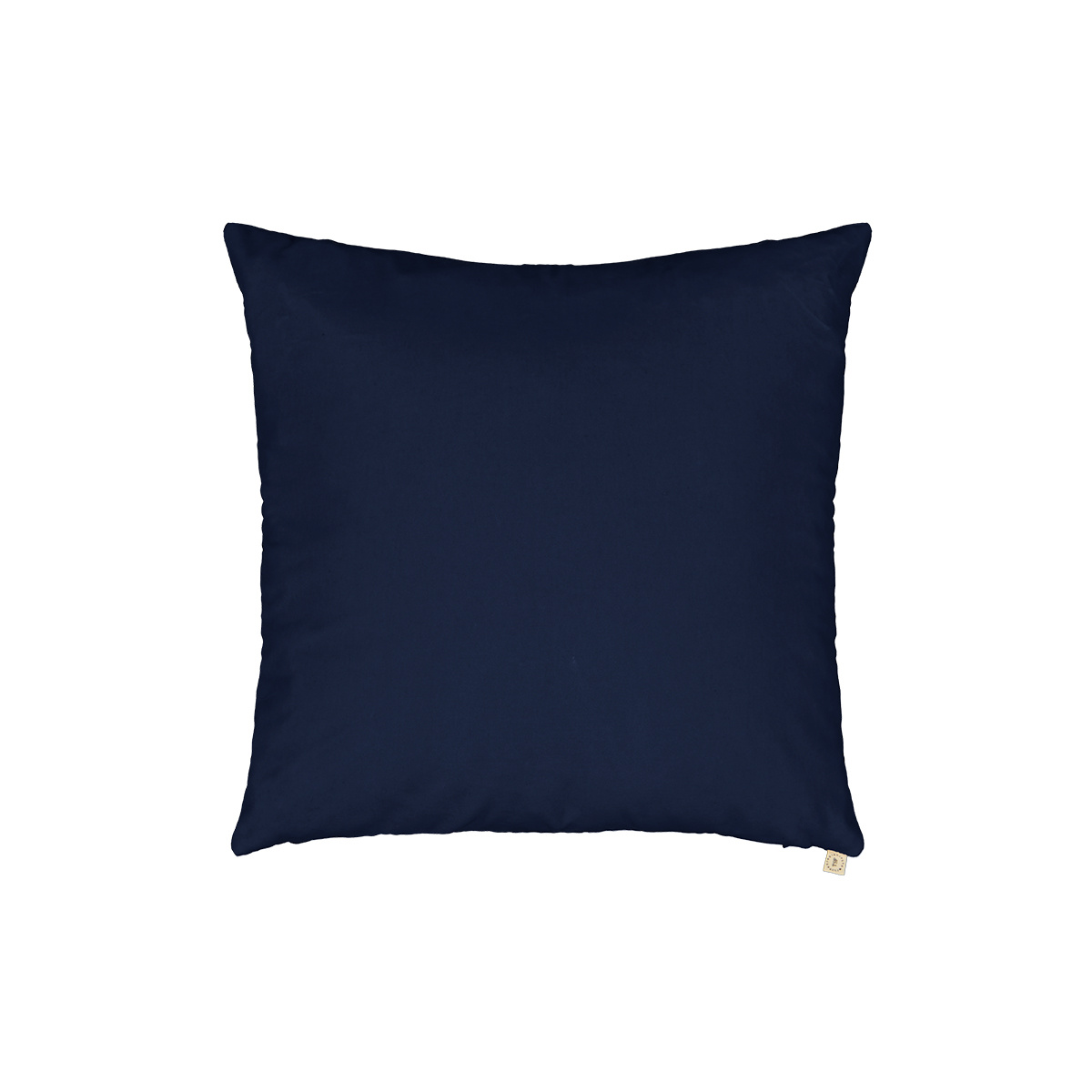 Carino Cushion Blue Navy Velvet