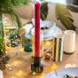 Candela black candle holder