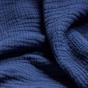 Navy Blue Copertina Throw