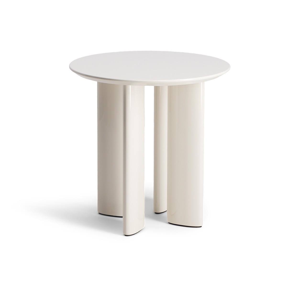 Carlotta Cream White Side Table