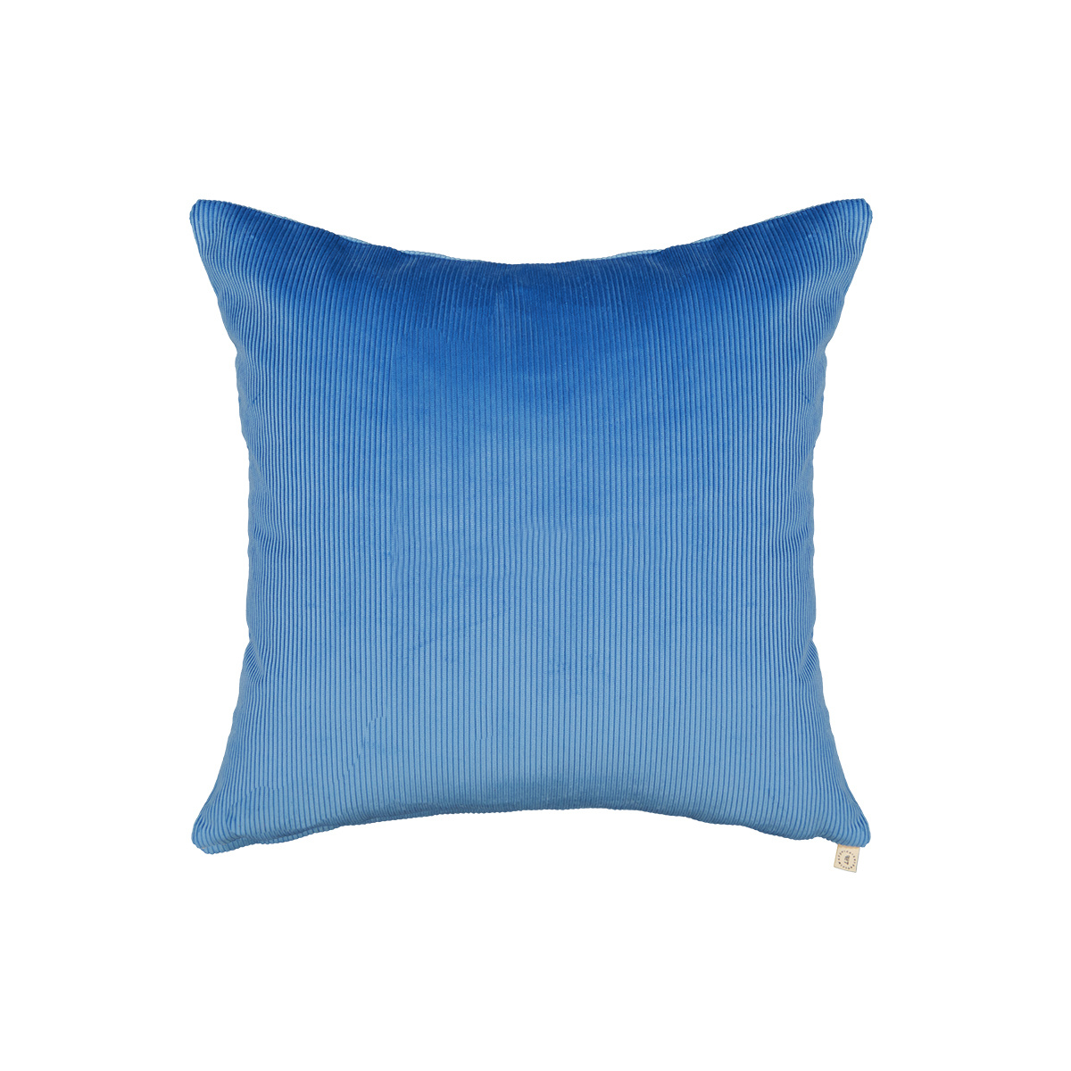 Carino blue corduroy cushion