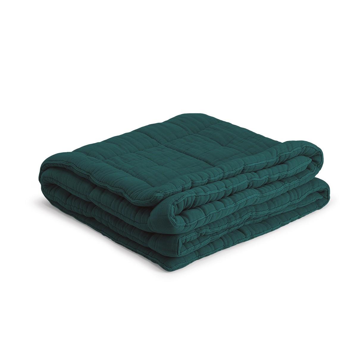 Fir Green Nido Quilt