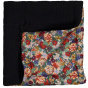 Liberty and Black bimaterial Nido Quilt