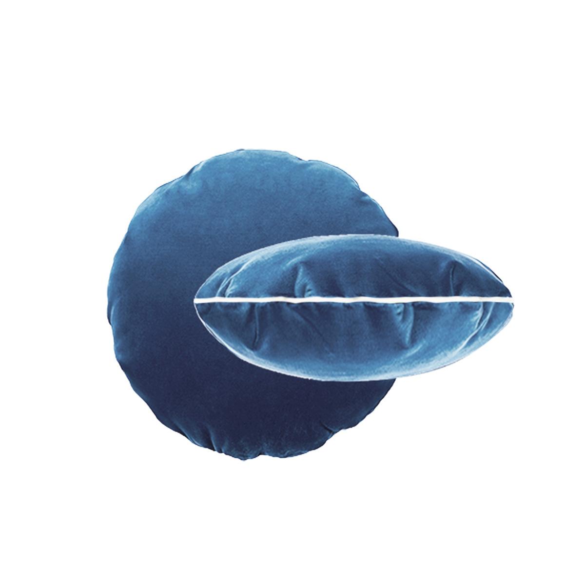 Blue Bomboloni Cushion