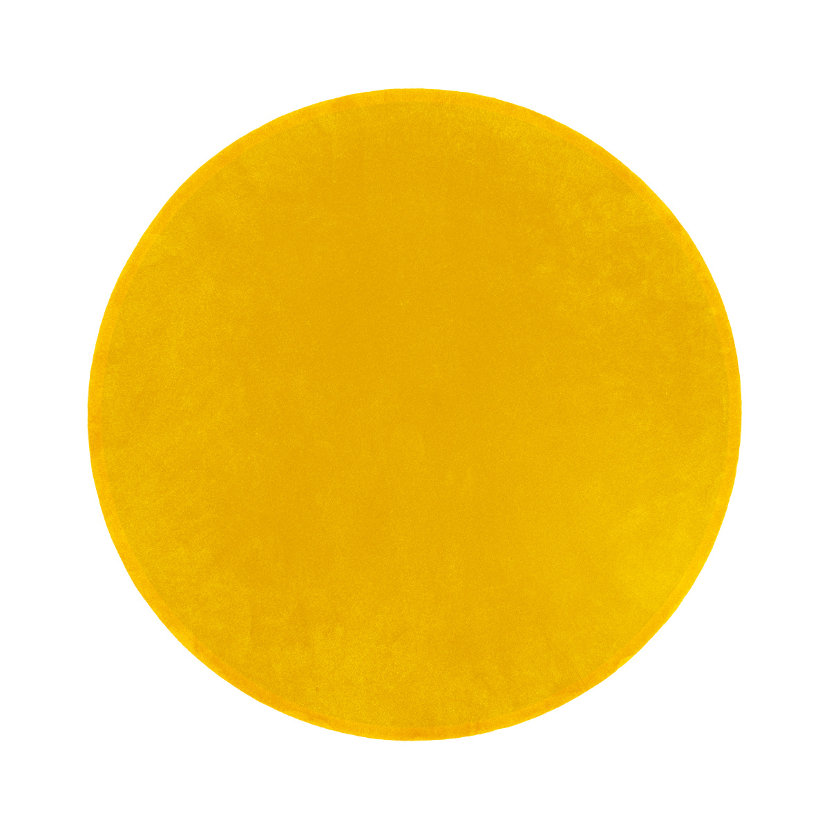 Luna Yellow Round Rug