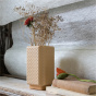Paris-Milano Sand Colour Vase - Cristina Celestino for The Socialite Family