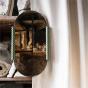 Paris-Milano Green Oval Mirror - Cristina Celestino for The Socialite Family