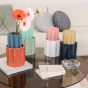 Storm Blue and Terracotta Duetto Vase