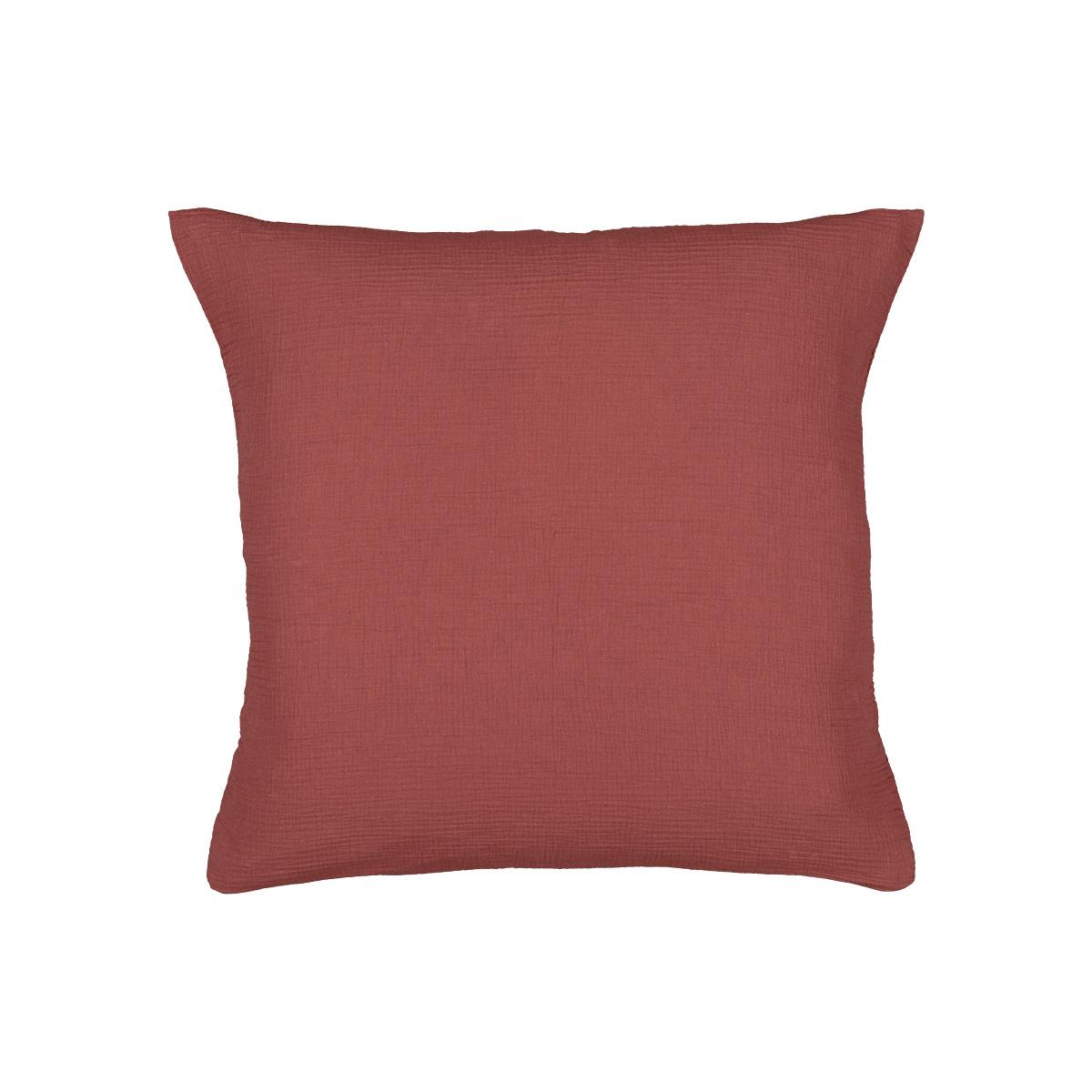 Como Pillowcase Brick Red