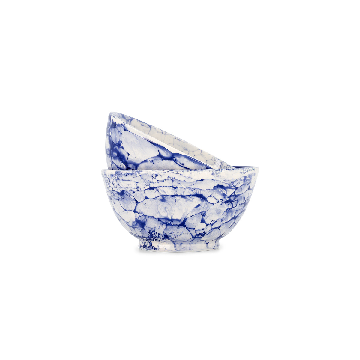 2 Blue Bolle Bowls