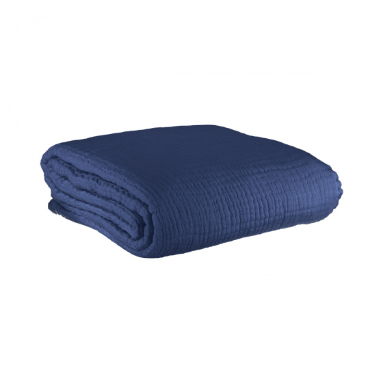 Copertina Throw, Navy Blue
