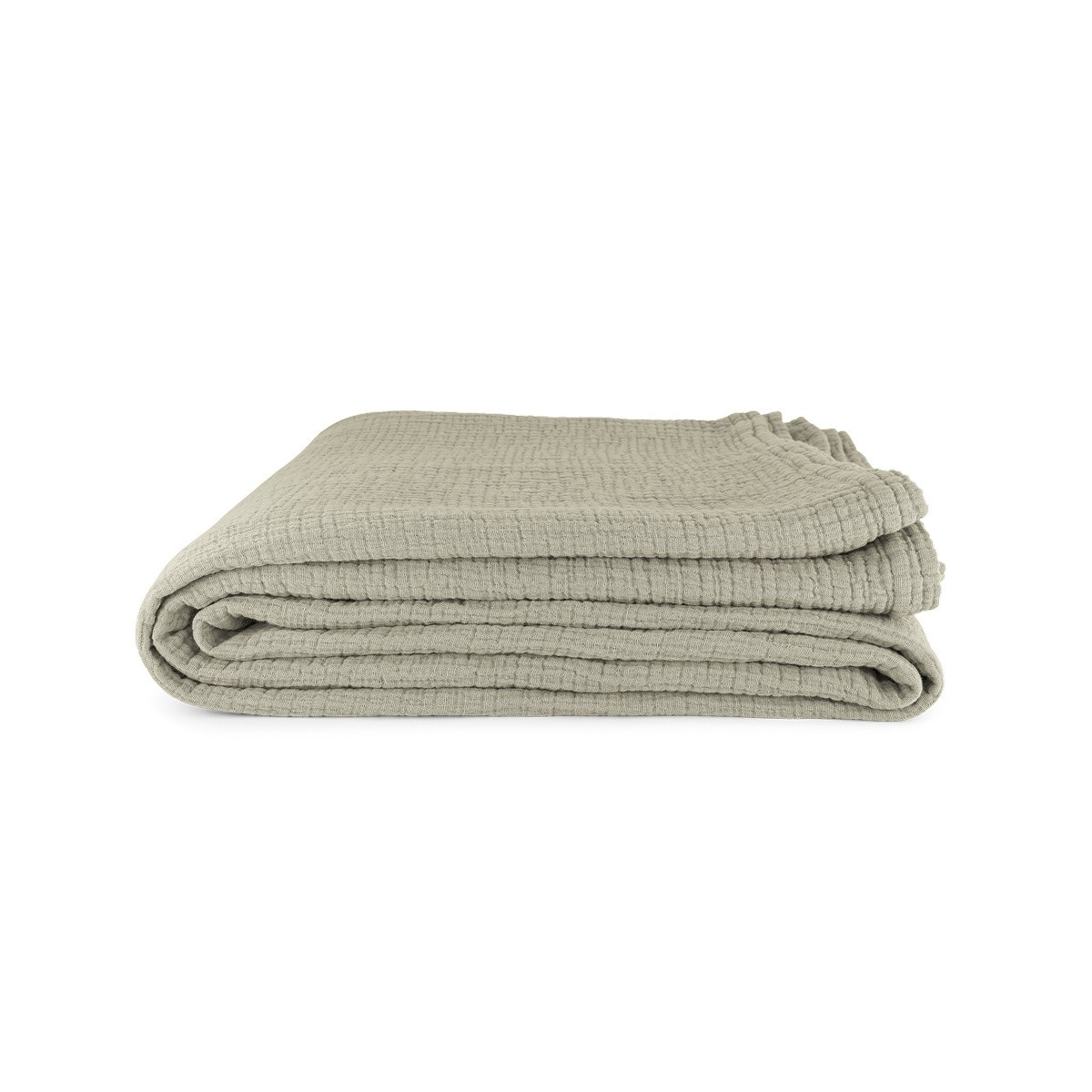 Allegra Tablecloth in Water Green Cotton Gauze