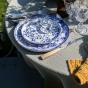 Blue Bolle Presentation Plate