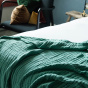 Copertina Throw, Almond Green