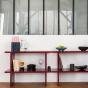 Mara Single Shelf, Lacquered