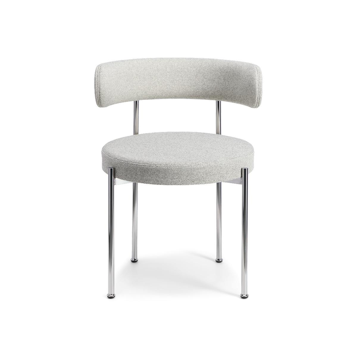 Mottled Grey Libera Armchair