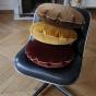 Bomboloni Cushion, Cappuccino Velvet