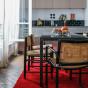 Tapis Velluto rouge 150 x 200