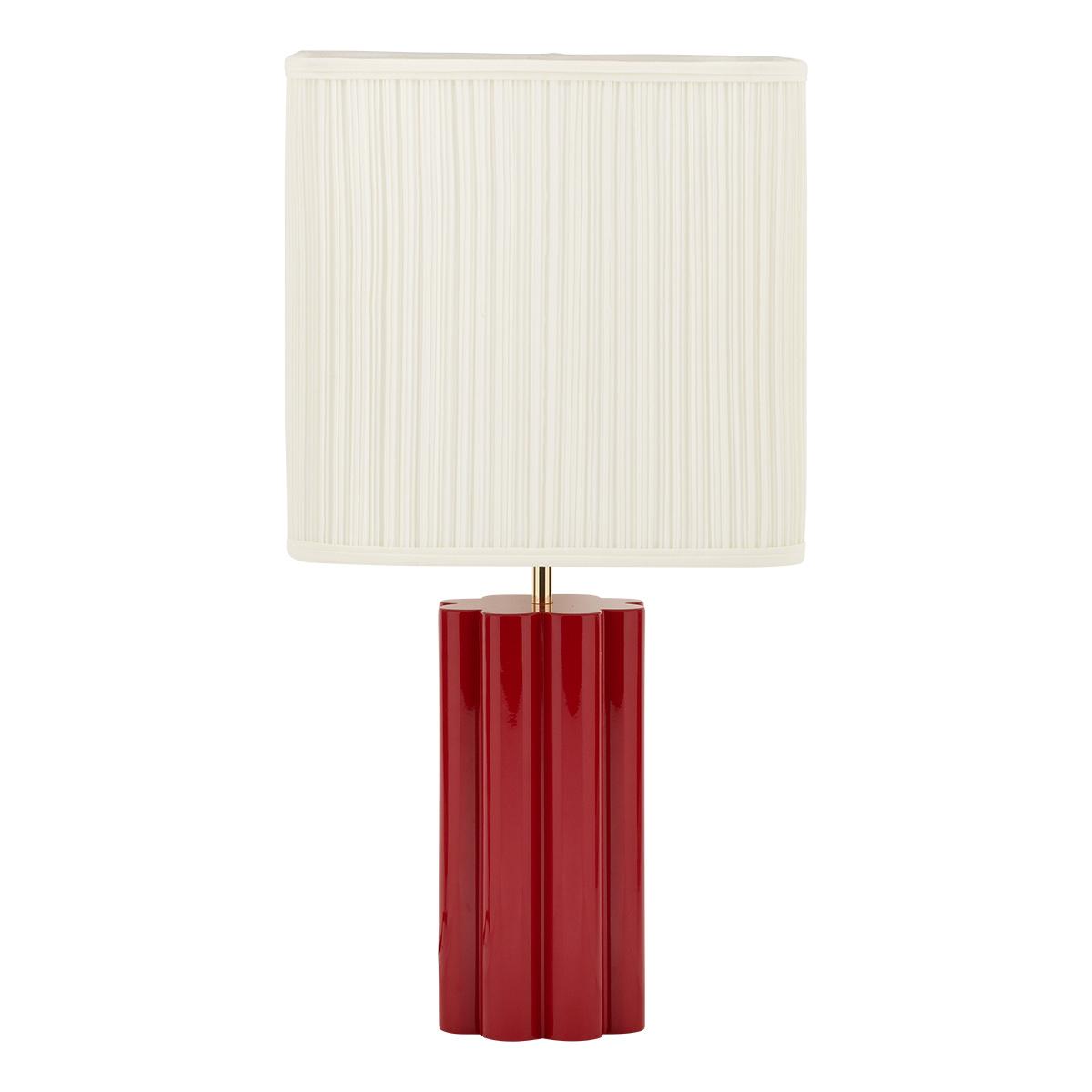 Lampe à poser Gioia rouge