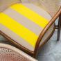 Fauteuil Cavallo brun Kvadrat/Raf Simons jaune