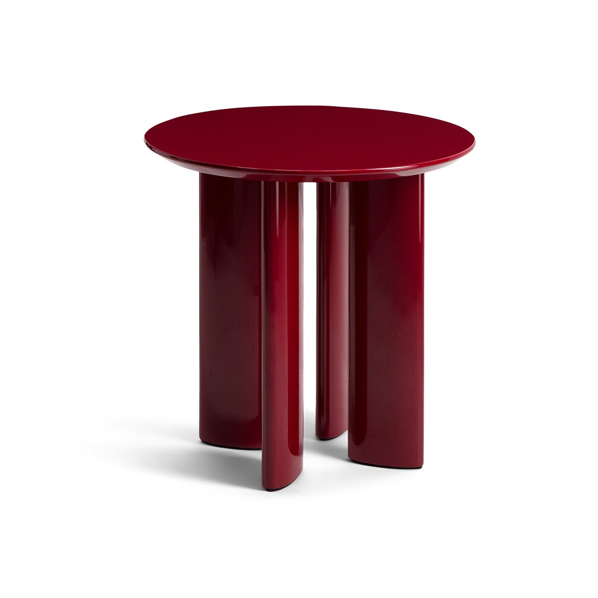Table d'appoint Carlotta rouge
