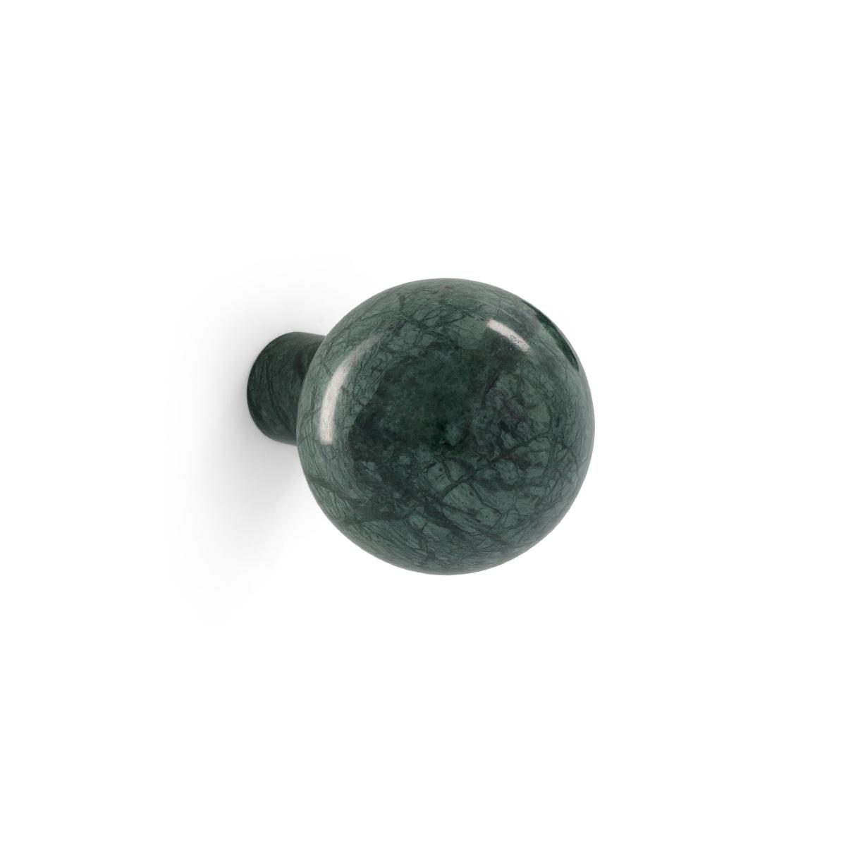 Patère Alma marbre vert