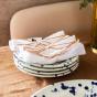 Serviette de table Tavola blanche