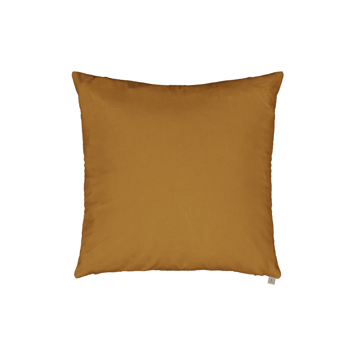 Coussin Nonna velours moutarde