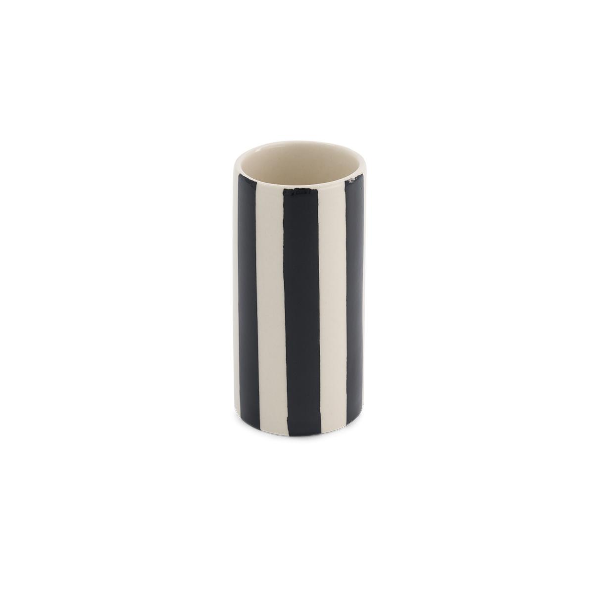 Pot Domino petit modèle motif noir