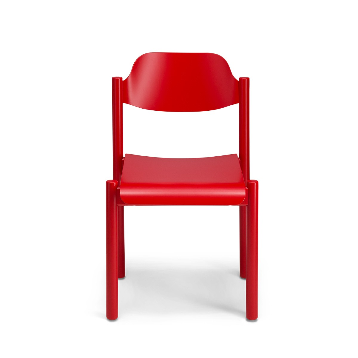 Chaise Achille rouge