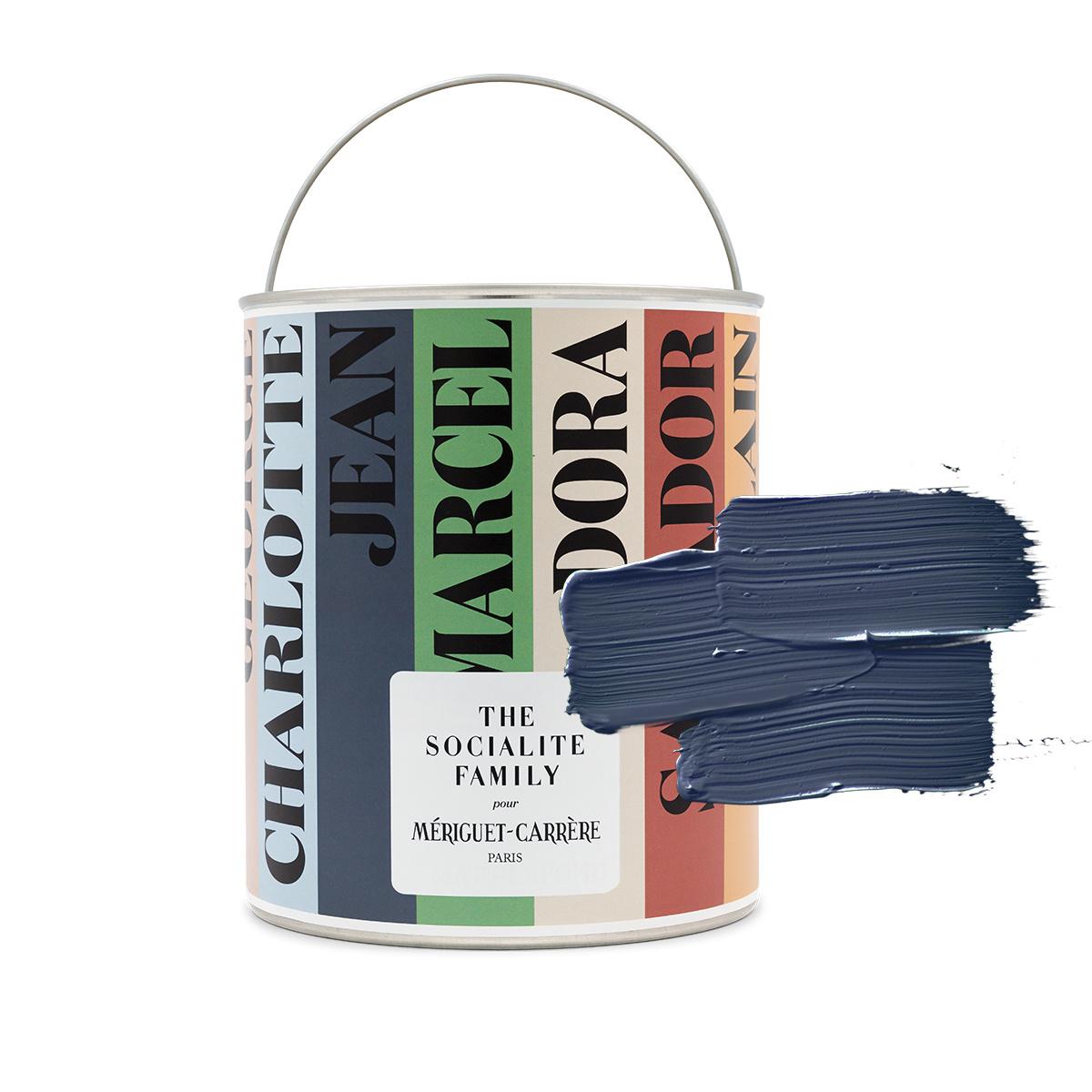 """Peinture Jean - teinte n°003 """"Les Modernistes"""" - bleu marine"""