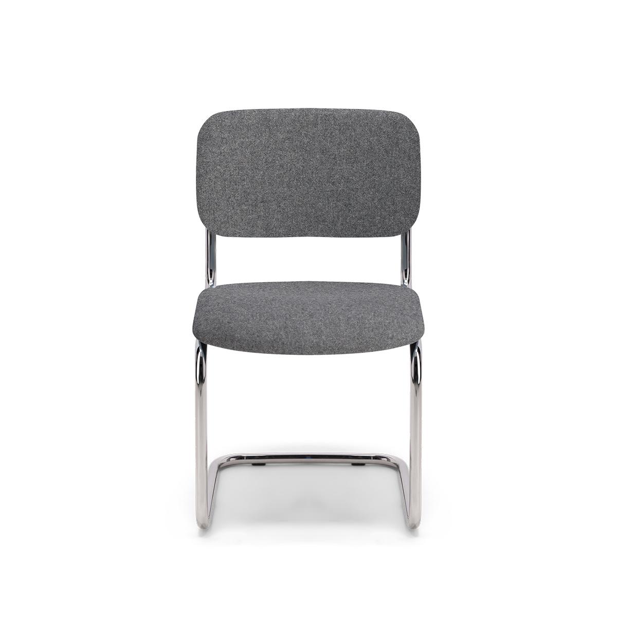 Chaise Classica feutre gris