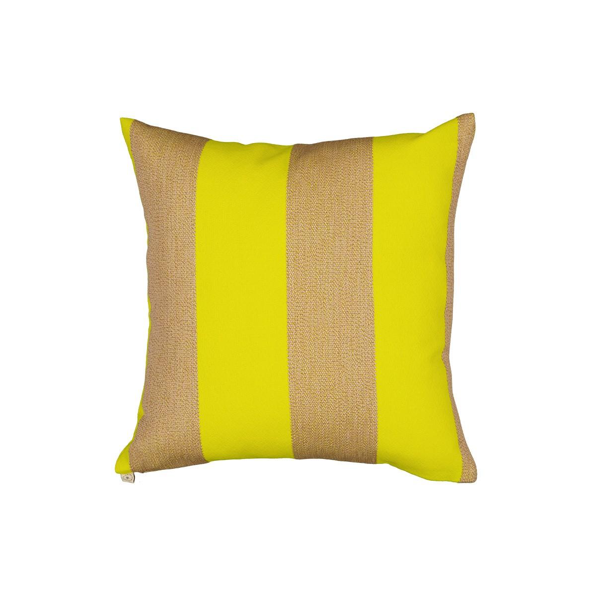 Coussin Viaggio Kvadrat / Raf Simons jaune