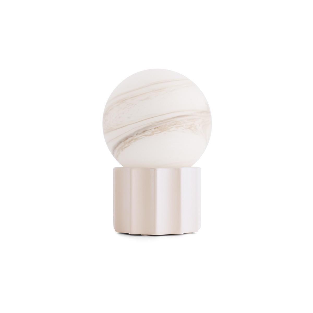 Lampe à poser Piccola blanc crème