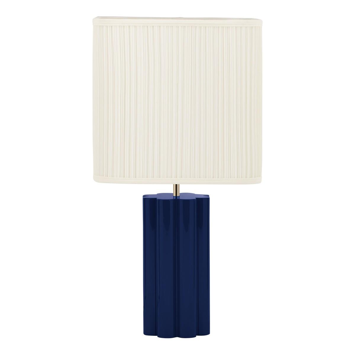 Lampe à poser Gioia bleue